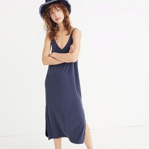 Madewell Sandwashed Midi Slip Dress